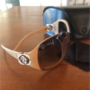 Chanel 6032 Camellia Flower Wrap Sunglasses